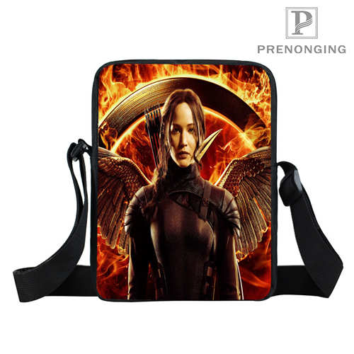 Custom The_Hunger_Games (1) Mini Messenger Shoulder Crossbody Bag handbag Teenager Small Bag Kid Bags Bookbag Gift#18-12-31-74