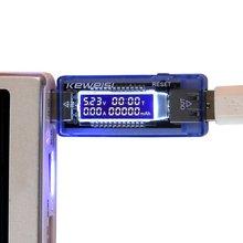 Détecteur de tension de courant, testeur de batterie 3 en 1 détecteur de courant de tension Mobile mètre de courant de chargeur USB docteur