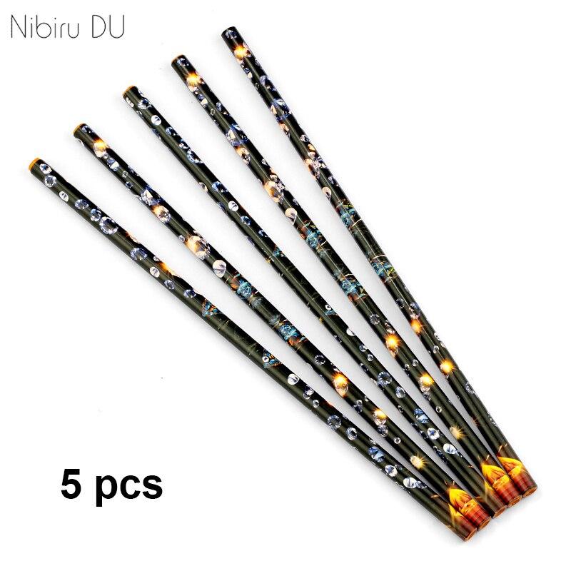 Caneta pontilhadora de cera, lápis strass ferramentas selecionadoras crayon pegando unha arte manicure ferramenta de cor aleatória