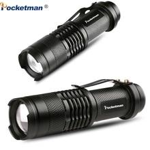 Ultra Helle Tragbare LED Taschenlampe L2 T6 linterna Einstellbarer Fokus Kleine für Kinder Kind Camping Notfall Taschenlampe Licht