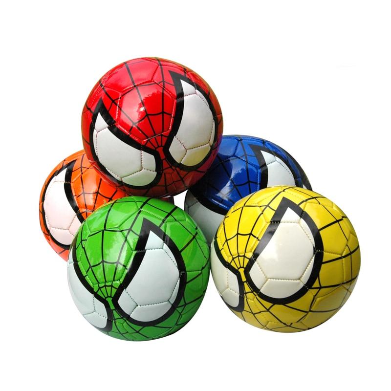 1 шт. детские, футбол, мяч человека-паука, размер 2, детский футбольный мяч человека-паука, детский футбольный мяч для детского сада