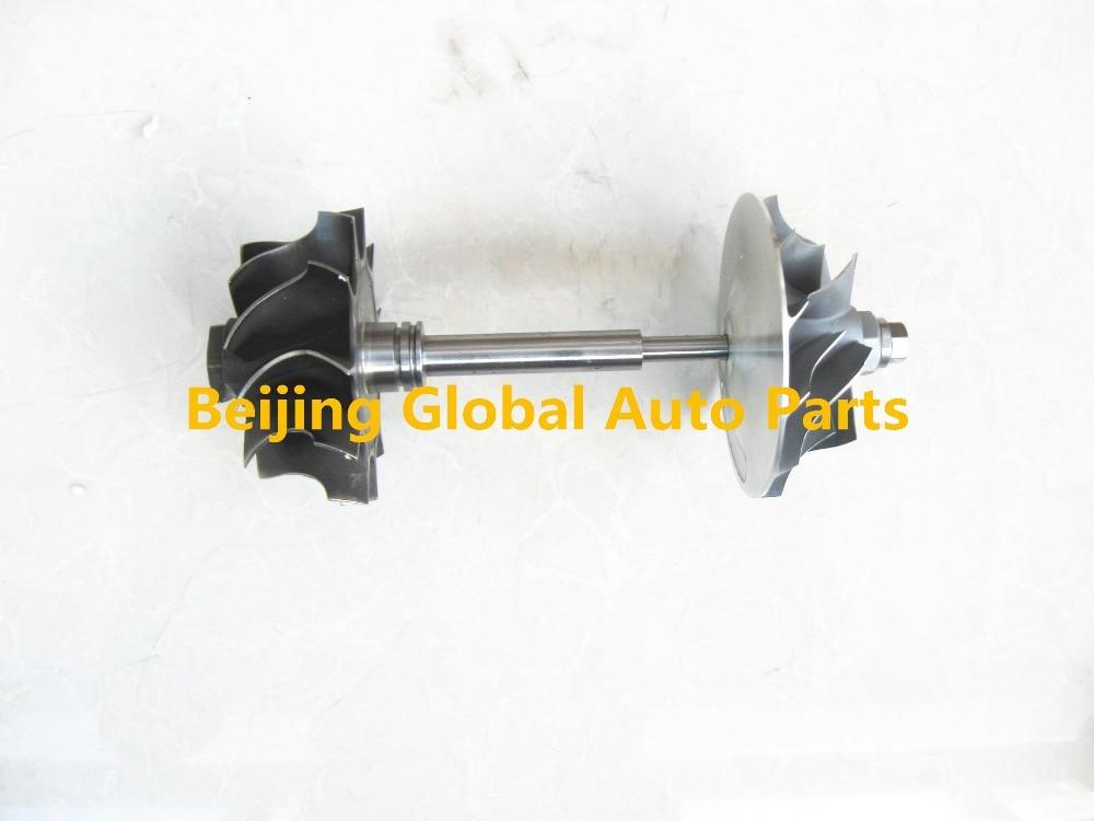 T3 Turbocharger Rotor Assembly T3 Turbo Balanced Turbine Wheel Shaft and Compressor Wheel