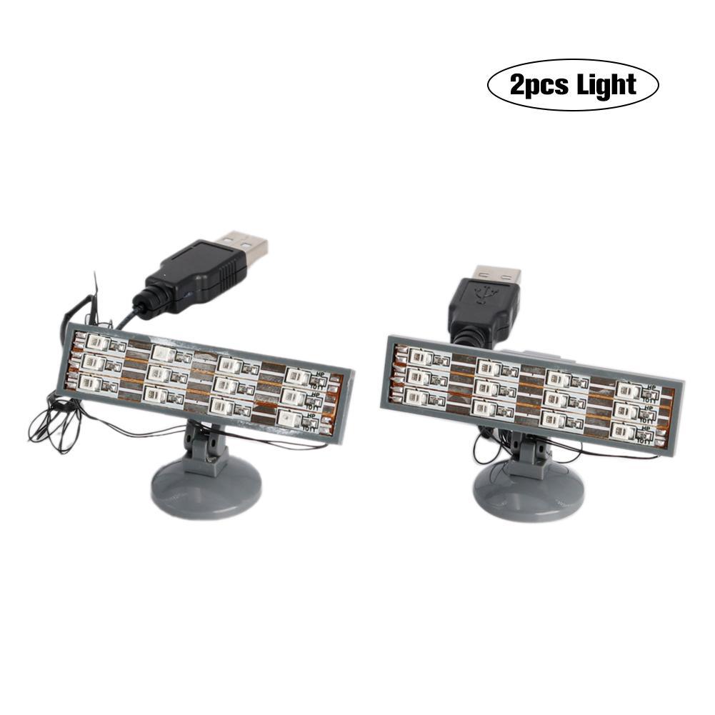 2PCS LED light up kit (only light included) Compatible for lego Lighting Brick Blocks