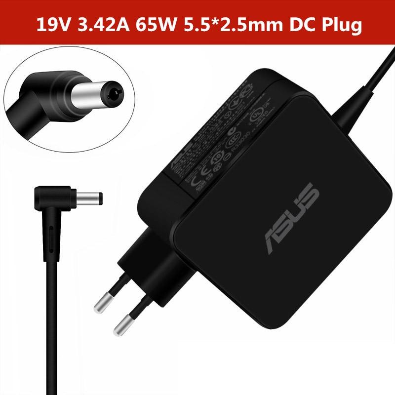 Адаптер для ноутбука Asus 19V 3.42A 65W 5,5*2,5mm ADP-65AW A CC A AC зарядное устройство для ASUS X45A X501A X550 X 550ZA X550LA F555