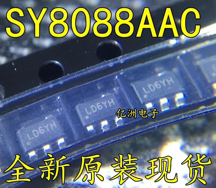 10 pçs/lote SY8088AAC SOT23-5 SY8088 Em Estoque