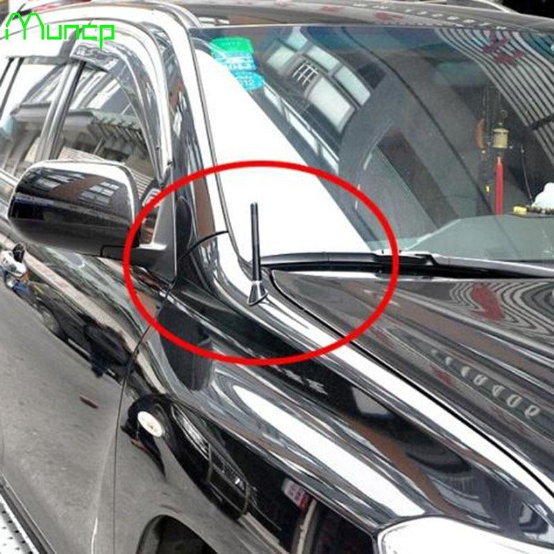Antena Universal Muncp para coche, Radio FM AM, fibra de carbono, antena corta para coche Nissan Teana x-trail Qashqai Livina Sylphy Tiida Sunny