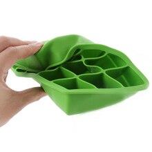 Grand Cube de glace créatif Silicone   Bricolage, moule carré plateau à glace, fruits glace Cube machine à glaçons accessoires de cuisine