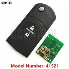 QCONTROL Auto Car Remote Keyless Entry Key Fit for MAZDA 41521 for M2 Demio M3 Axela M5 Premacy M6 Atenza 433MHz