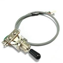 1 peça 3-way guitarra elétrica captador interruptor de alternância para epi lp sg sem soldagem níquel prata feita na coréia