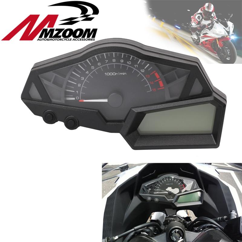 Tablero de instrumentos de la motocicleta velocímetro tacómetro Para KAWASAKI NINJA 300 EX300A 2013-2015