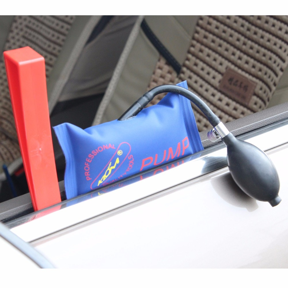 3pcs/set Locksmith Supplies Locksmith Tools Pump Wedge Auto Air Wedge Airbag Lock Pick Set Open Car Door Lock Hand Tools