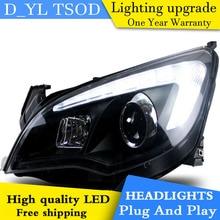 Car Styling for Excelle XT Headlights 2010-2012 Excelle XT LED Head lamp DRL Car Goods Double Beam H7 HID Xenon bi xenon lens