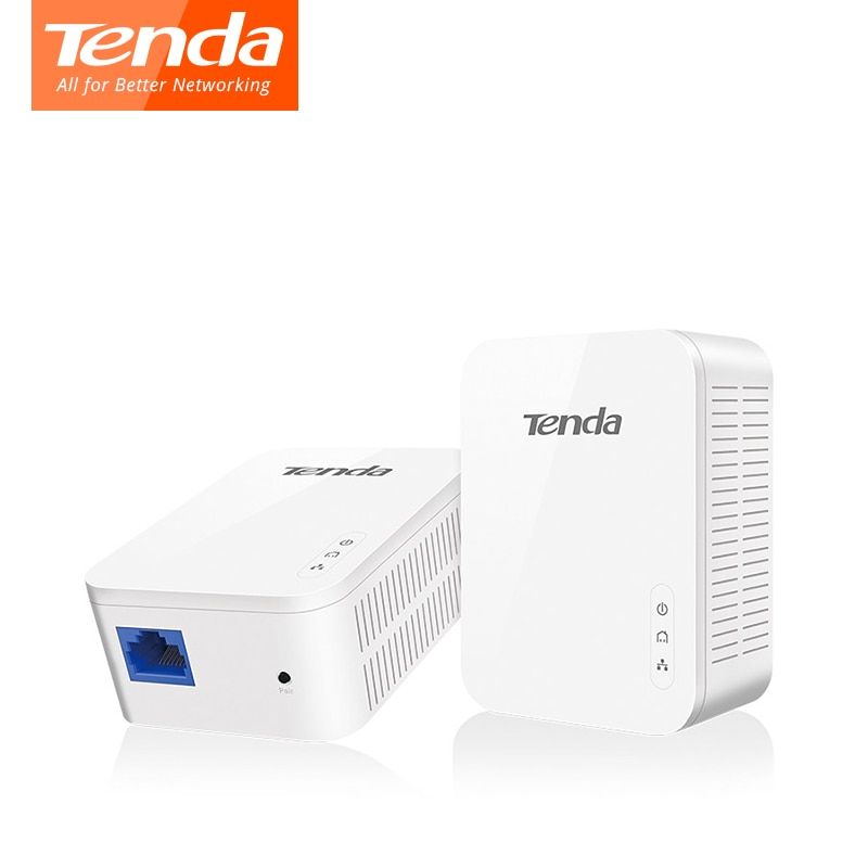 1000Mbps adaptador Powerline Tenda PH3 AV1000 adaptador de red Gigabit Ethernet PLC adaptador IEEE 802.3ab Homeplug IPTV 1 * par Kit