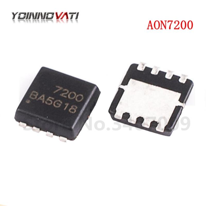 10 pçs/lote AON7200 7200 QFN MOSFET(Metal Oxide Semiconductor Campo Efeito Transistor) novo
