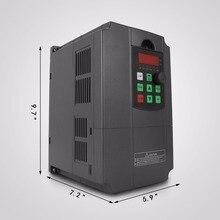 7.5KW napęd o zmiennej częstotliwości falownika VFD 10HP 34A 220-250 V
