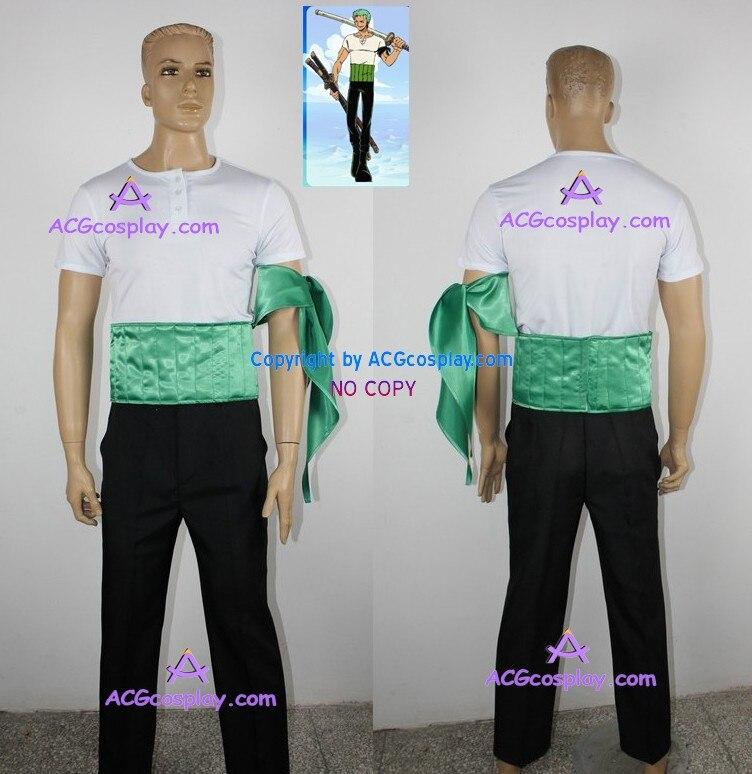 Una pieza Roronoa Zoro disfraz Cosplay acgcosplay