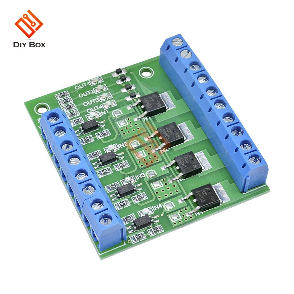 MOS FET F5305S 4 канала импульсный триггерный переключатель, контроллер ШИМ входного сигнала, стабильный для двигателя LED 4 Way 4ch 4 way Diy электронный м...