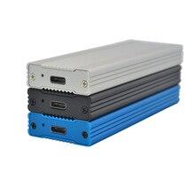 Boîtier NVME M.2 boîtier HDD en Aluminium complet boîtier HDD boîtier HDD Mobile TYPE C 3.1 ASM2362 m.2 USB3.1 PCIE boîtier SSD TYPEC SSD M2