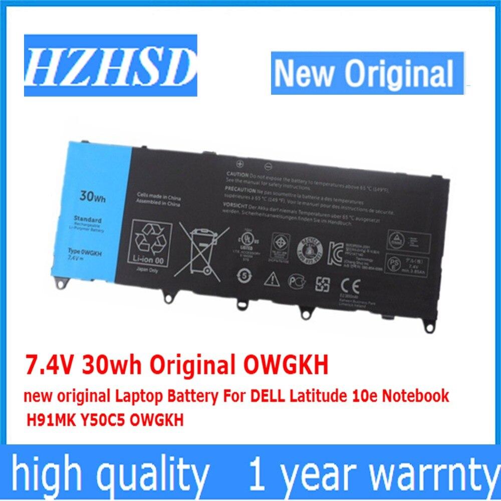7,4 V 30wh Original OWGKH nueva batería del ordenador portátil para DELL...