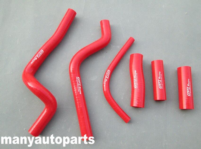 Силиконовый радиатор охлаждающей жидкости шланг комплект для Honda CR 500 R CR500R CR500 1995 1996 1997 1998 99 00 01 95 96 97 98 99 красный