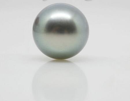 Xiuli 000334 natural preto pérola redonda beads 11mm solta nenhum buraco jóias