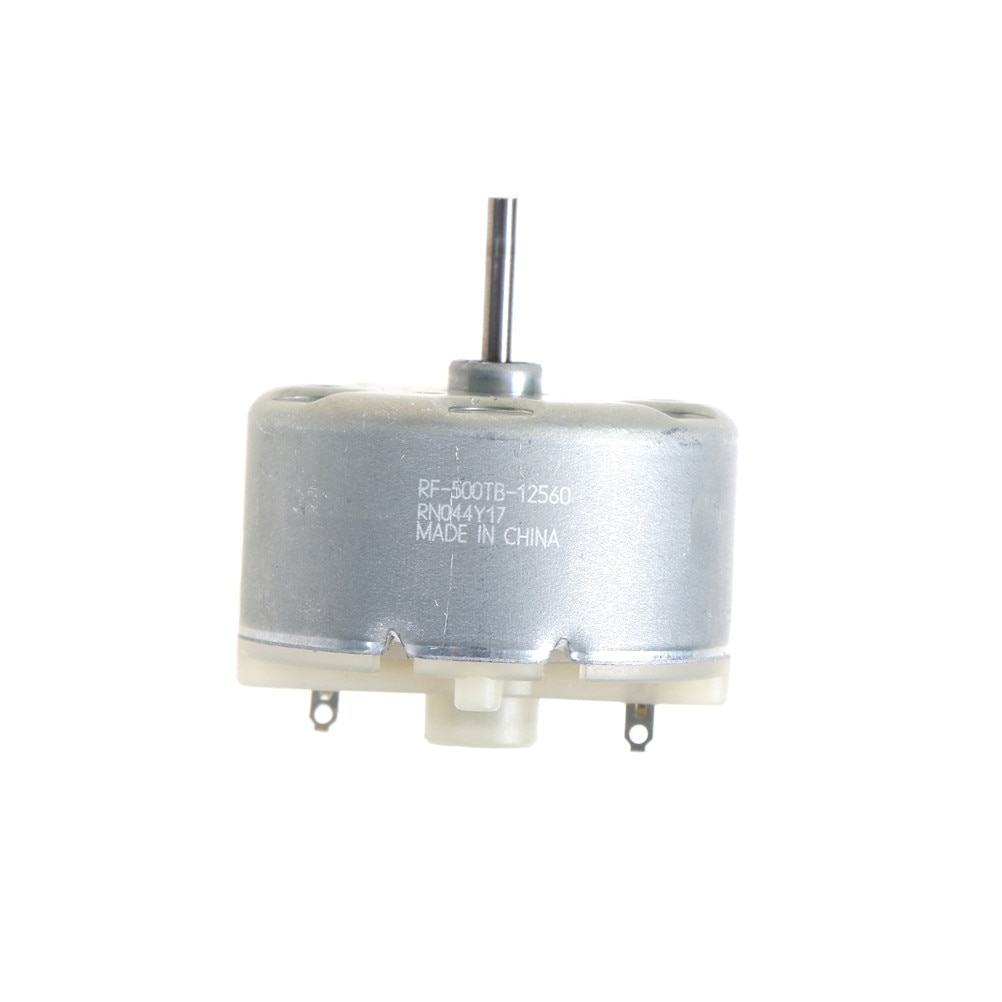 DC 3V-12V Micro eléctrico VDC DVD Motor 3V-2700RPM 6V-4000RPM RF500TB-12560 promoción