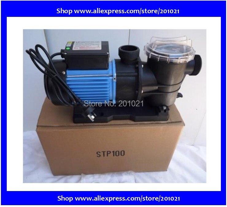WHIRLPOOL LX STP100 bomba de piscina bañera de hidromasaje estanque Motor 750W (1 HP) flujo máximo 275 L/min (16500 L/H) Cabeza máxima 11M