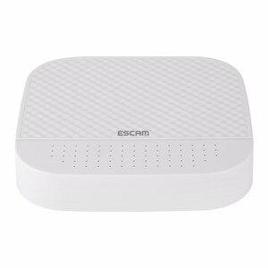 2018 new design ESCAM PVR204 DVR 4ch NVR + 2ch PVR For IP Camera NVR System
