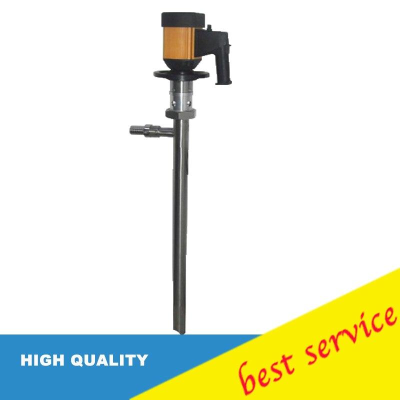 220v 50hz 60 l/min 316 Acero inoxidable alta viscosidad aceite rotativo bomba de tornillo Vertical