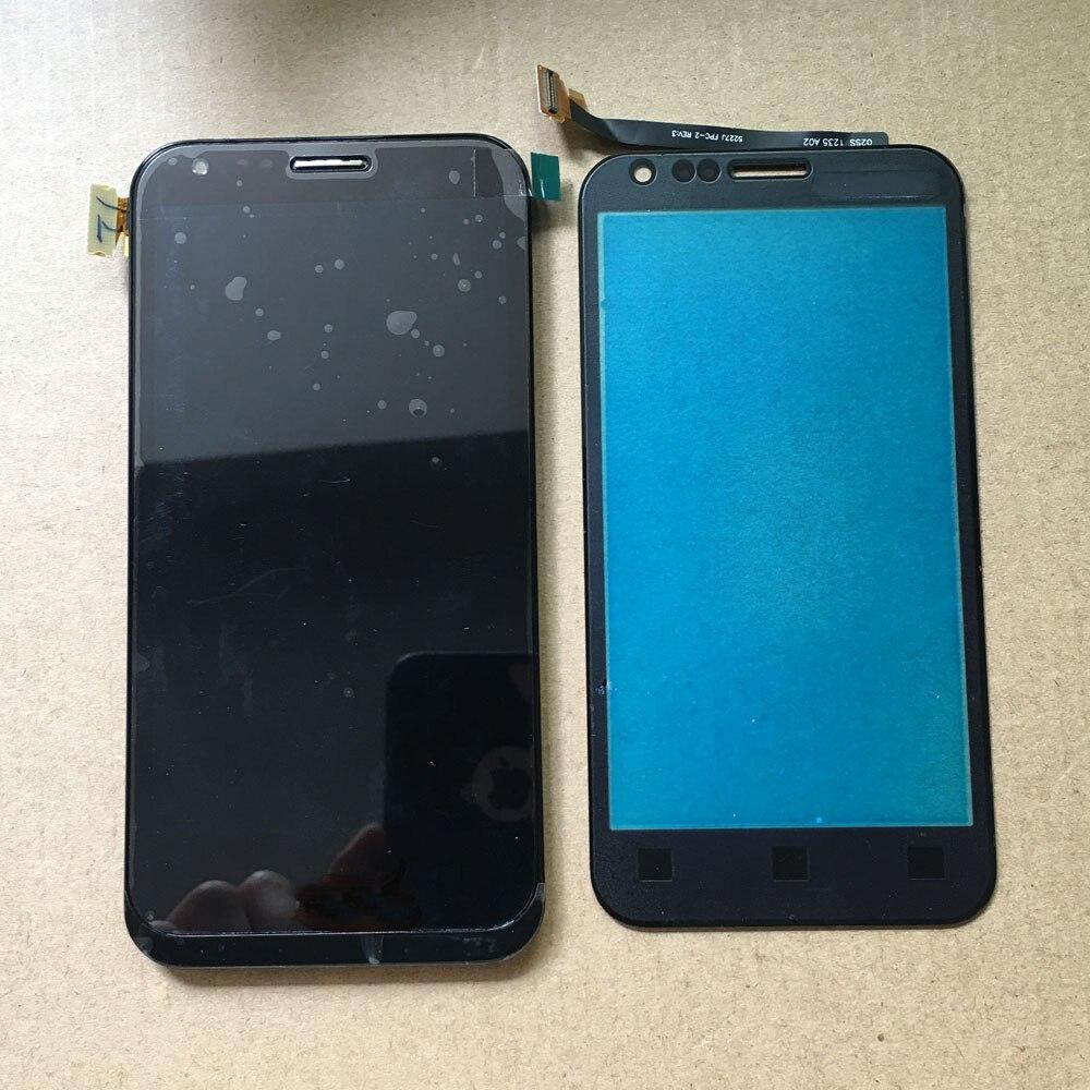 Negro para ASUS Padfone 2 II A68 Digitalizador de pantalla táctil Sensor...