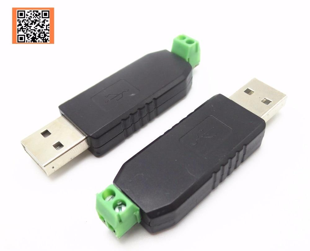 1 Uds. Adaptador convertidor USB a RS485 485 de buena calidad compatible con Win7 XP Vista Linux Mac OS WinCE5.0