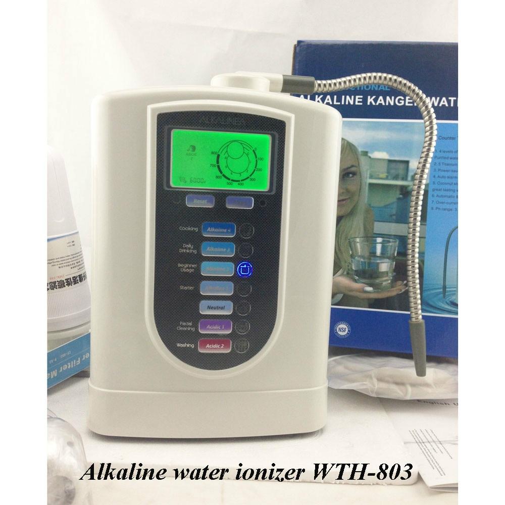 Tecnología electrolítica ionizador de agua alcalina con 5 Placas WTH-803