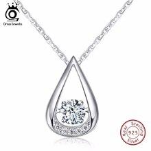 ORSA bijoux 100% 925 argent Sterling pendentifs colliers pour breloque dame mariage et fiançailles mode femmes bijoux SN40