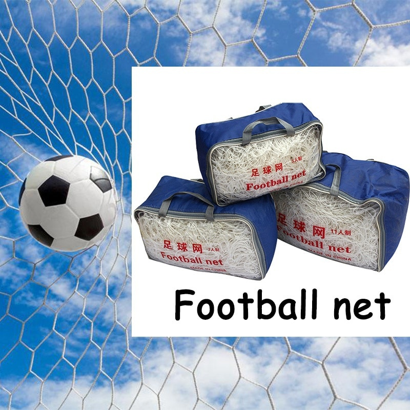 Outdoor Football Net for Soccer Goal Sports Training Nets Mesh Gates 2018 World Cup Russia bola de futsal