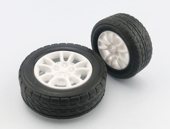 4 шт./лот 1:20 резиновые шины, модель коле