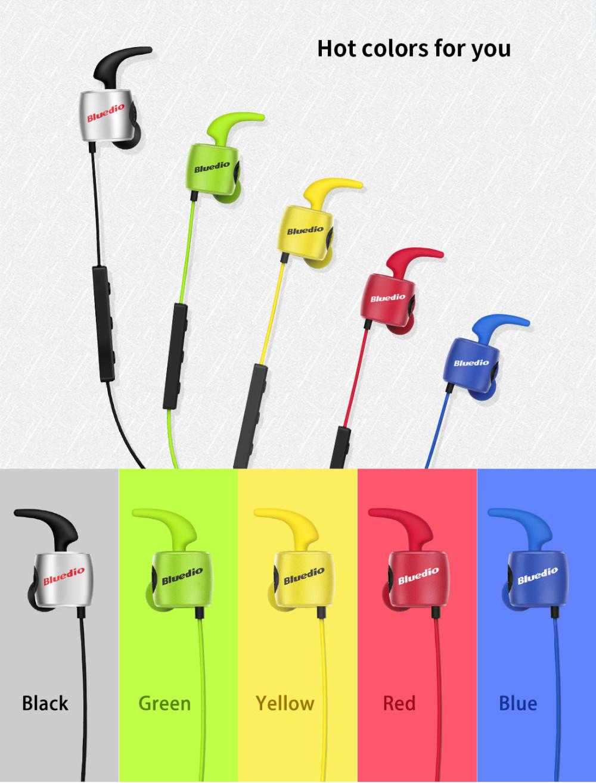 Te bluedio sport zestaw słuchawkowy bluetooth/pot dowód słuchawki bezprzewodowe słuchawki douszne earbuds wbudowany mikrofon 2