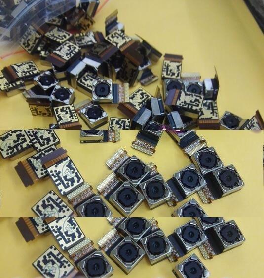"""Новая розничная продажа 1 шт. 100% оригинальная задняя камера для Asus zenfone 2 ZE551ML ZE550ML 5,5 """"задняя камера с гибкими запасными частями"""