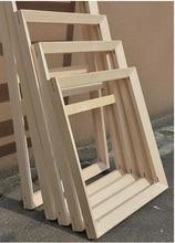 Cadre en bois pour peintures de toile   Vous devez installer soi-même sans peintures