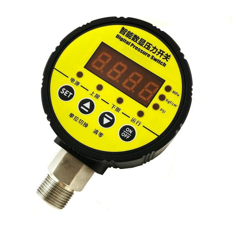 Паровой реле давления с 16 бар Макс реле давления выход сигнала и 0.5% Высокая точность переключатель высокого давления