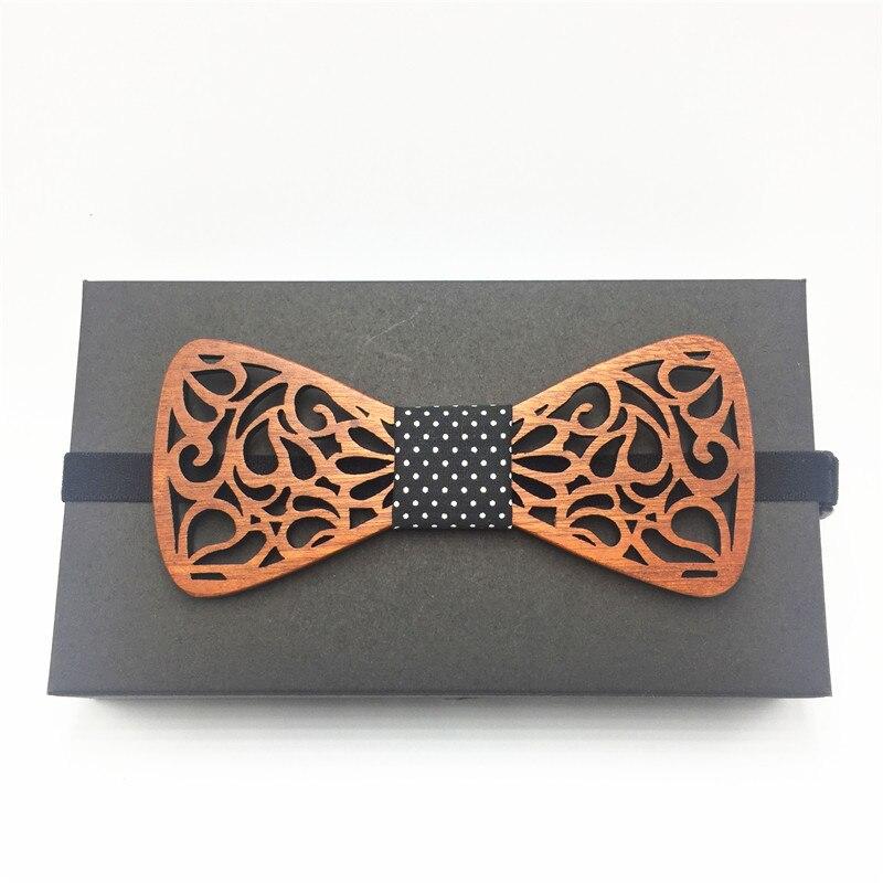 2018 de madera de la boda corbata gemelos conjunto traje de Hombre Papillon Corbatas fina corbata gravata Pajaritas Hombre noeud papillon enfant