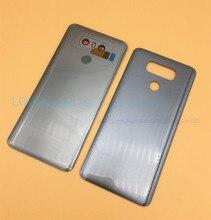 OEM nouveau couvercle arrière en verre pour LG G6 H870 H871 H872 H873 LS993 couvercle de batterie boîtier de porte arrière avec id tactile + objectif de la caméra