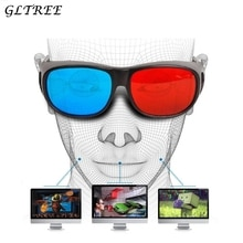 GLTREE 1PCS Stereo Movie Sunglasses Women Red-blue Cyan Anaglyph Simple Style 3D Glasses 3d Movie Ga