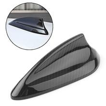 Real Carbon Fiber Car Shark Fin Antenna Cover Cap Trim For BMW F15 F26 F20 F21 F16 F85 F86 F45 F46 F48 F49