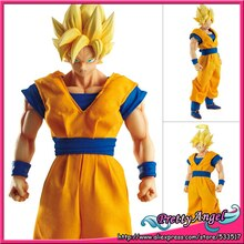 Brettyangel-véritable Megahouse Dimension de Dragon Ball DOD Super Saiyan Goku PVC figurine