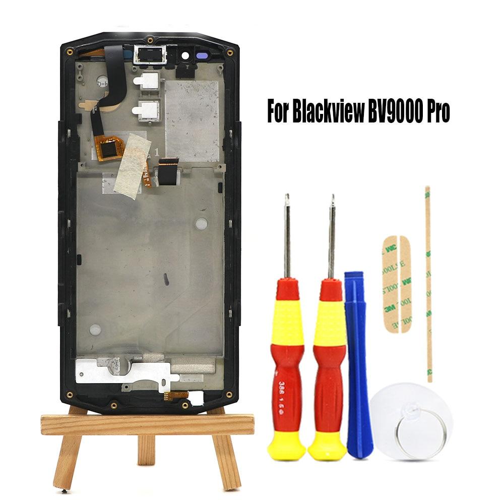 Original 5,7 pulgadas Blackview BV9000/BV9000 Pro Android 7,1 pantalla táctil + 1440x720 pantalla LCD + asamblea de reemplazo