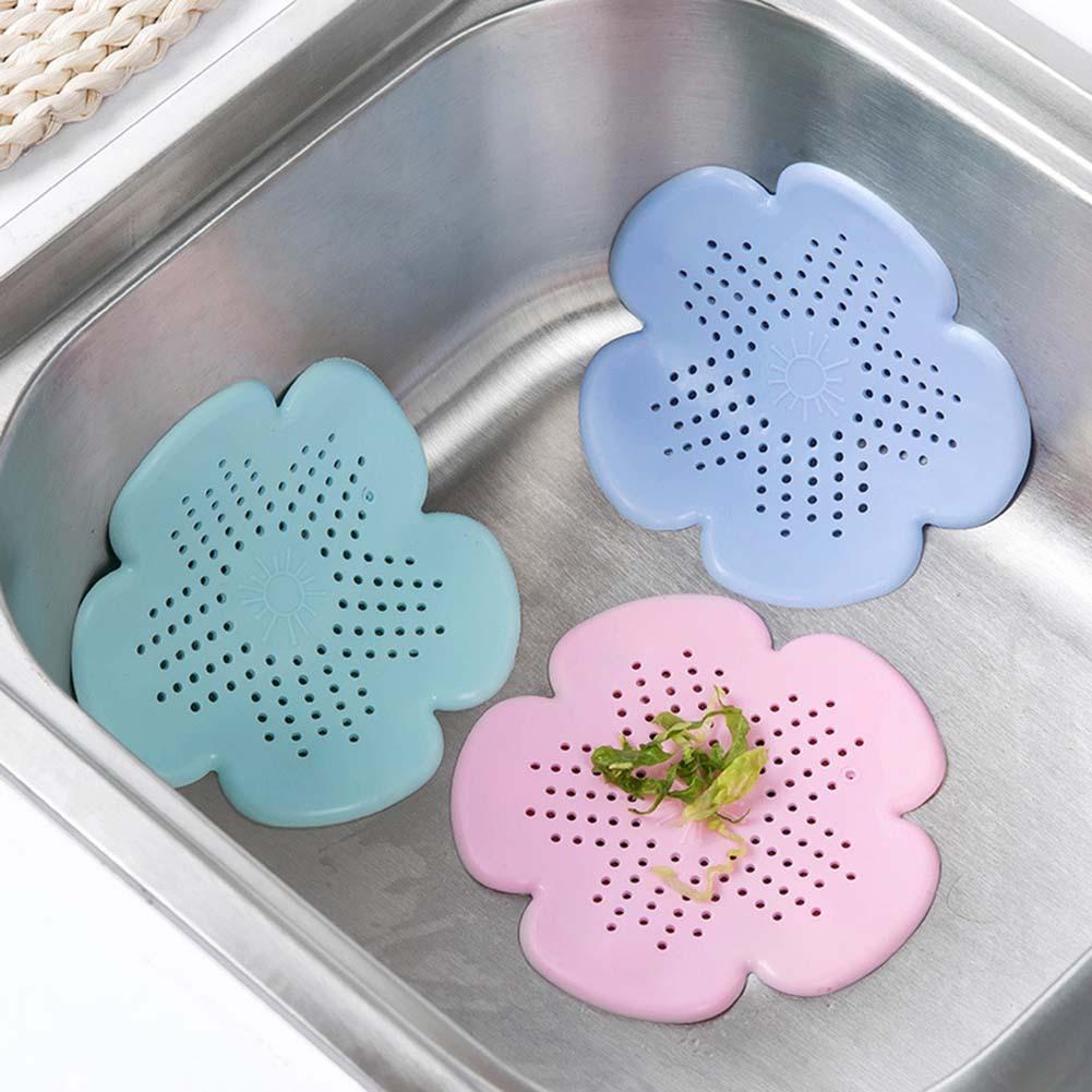 Silicone Filter Bathtub Hair Catcher Stopper Shower Drain Hole Filter Trap Sink Strainer for Bathroom Toilet Kitchen accessories