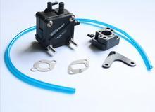 Pompe à eau C/W carburateur isolant pour ZENOAH RCMK moteur RC bateau à gaz