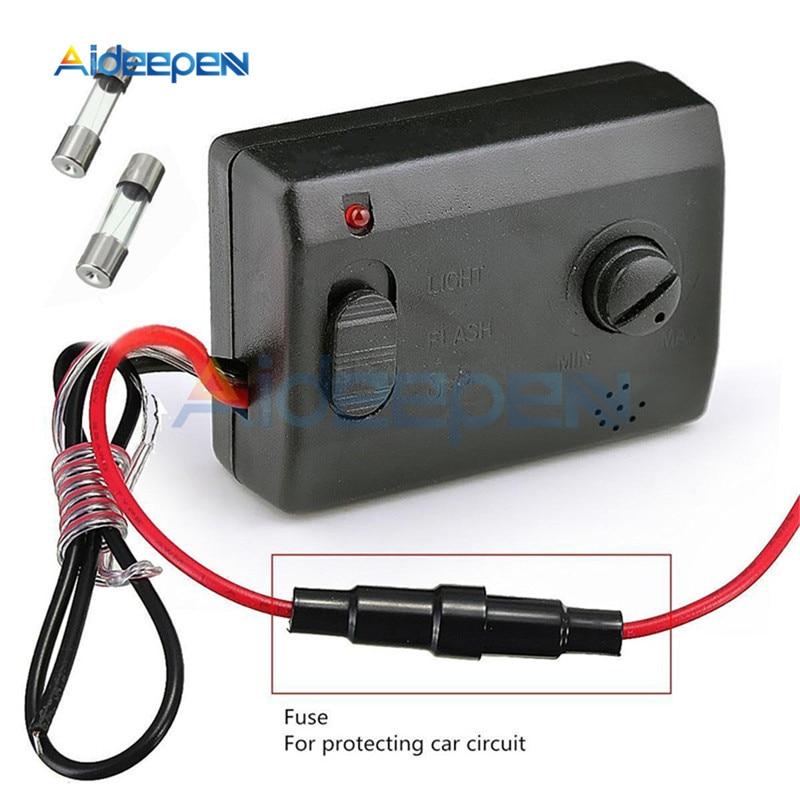 12V 2A светодиодный чувствительный к голосовой музыки сенсор переключатель звукового контроллера автомобильный звуковой переключатель контроллер для гибкого светильника Diy Kit