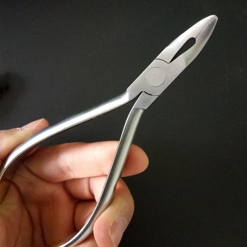 1 pièces dentaire orthodontique Weingart pince Archwire Cinch pince Instrument fil arrière pince dentiste