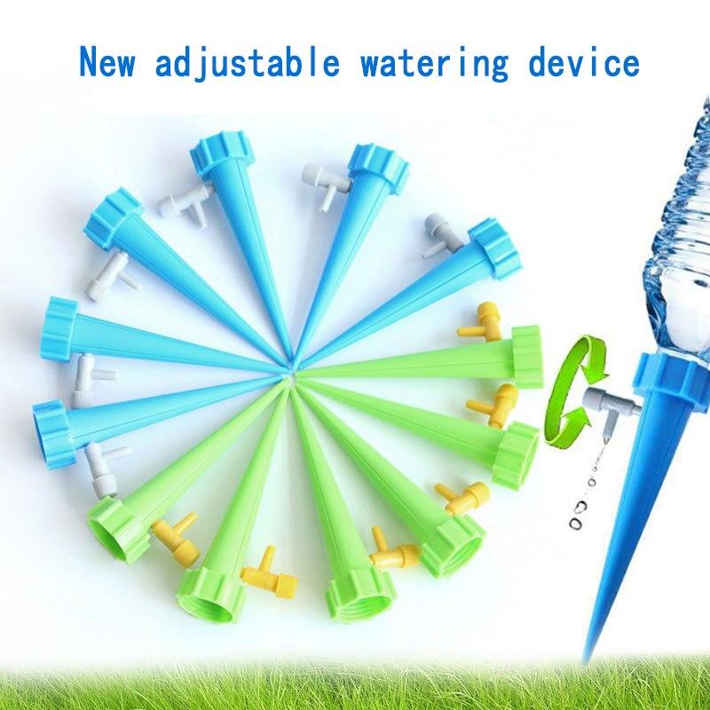 1Pcs Anlage Wasser Versickerung Orgel Automatische Drop Dawdler Ventil Einstellen Blume Selbst Bewässerung Spikes Stakes Bewässerung System